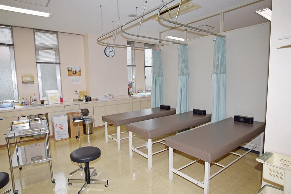 処置室です
